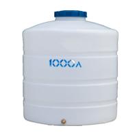 Вертикальный пластиковый бак 1000 литров
