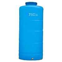 Вертикальный пластиковый бак 750 литров
