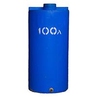 Вертикальный пластиковый бак 100 литров