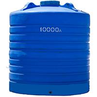 Вертикальный пластиковый бак 10000 литров