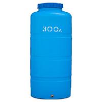 Вертикальный пластиковый бак 300 литров