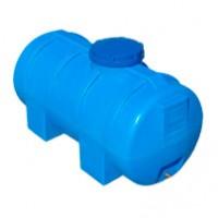 Горизонтальный пластиковый бак 750 л