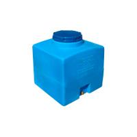 Квадратный пластиковый бак 100 л.