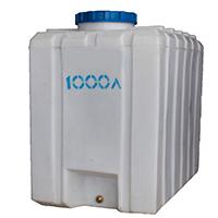 Емкость кубовая, квадратный пластиковый бак 1000 л.