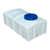 Квадратный пластиковый бак 400 л.